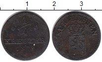Изображение Монеты Гессен-Кассель 1/4 крейцера 1829 Медь VF Региональный выпуск