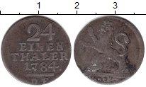 Изображение Монеты Гессен-Кассель 1/24 талера 1784 Серебро VF