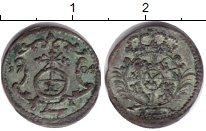Изображение Монеты Саксония 1 пфенниг 1704 Серебро XF-
