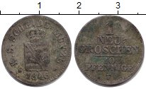 Изображение Монеты Саксония 1 грош 1846 Серебро VF