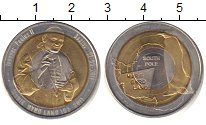 Изображение Монеты Антарктика 10 долларов 2011 Биметалл UNC-