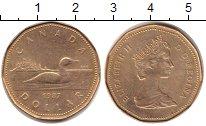 Изображение Монеты Канада 1 доллар 1987 Медь XF