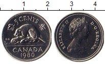 Изображение Монеты Канада 5 центов 1980 Медно-никель UNC