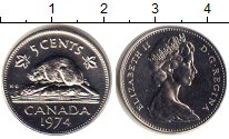 Изображение Монеты Канада 5 центов 1974 Медно-никель UNC