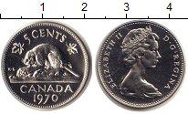 Изображение Монеты Канада 5 центов 1970 Медно-никель UNC