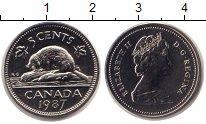 Изображение Монеты Канада 5 центов 1987 Медно-никель UNC
