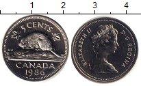 Изображение Монеты Канада 5 центов 1986 Медно-никель UNC